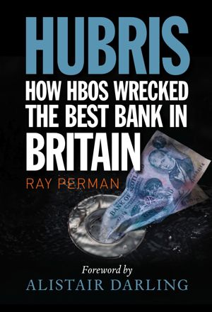 Hubris book front cover