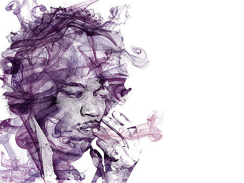 'Just a photoshop doodle': Hendrix by Dana CC BY-NC 2.0